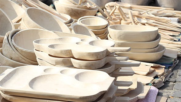Wood Dishes
