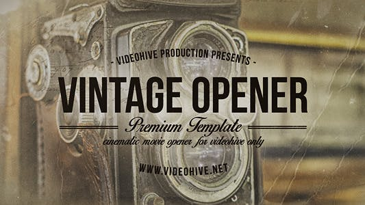 Thumbnail for Vintage Opener Two