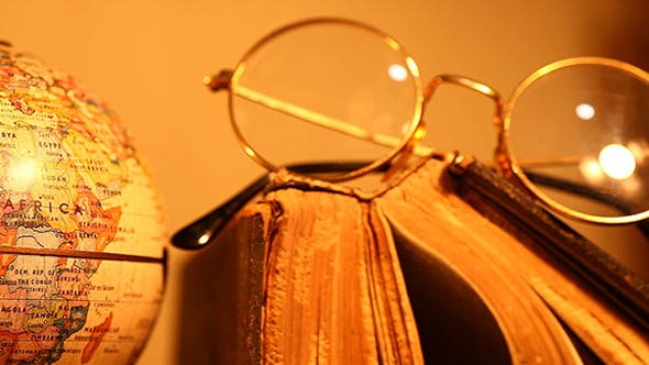 Thumbnail for Old Spectacles With Books