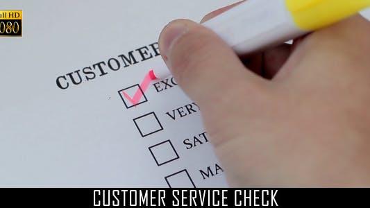 Thumbnail for Customer Service Check