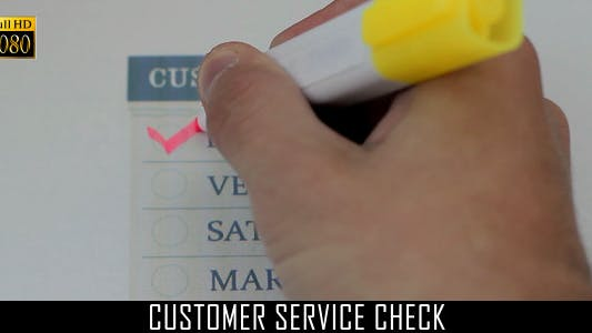 Thumbnail for Customer Service Check 2