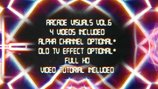 Thumbnail for Retro Arcade Visuals Vol.6