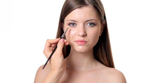 Thumbnail for Beautiful Girl Applying Make Up