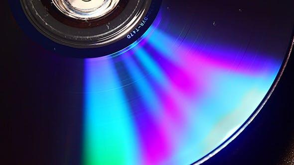 Thumbnail for DVD Disk Rotation