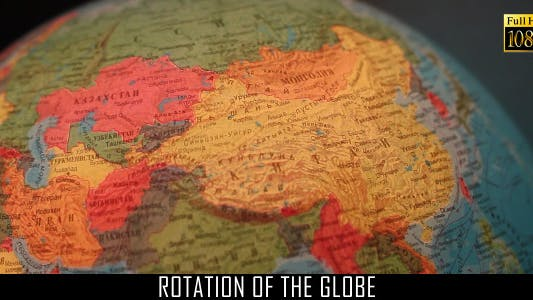 Thumbnail for Rotation Of The Globe 2