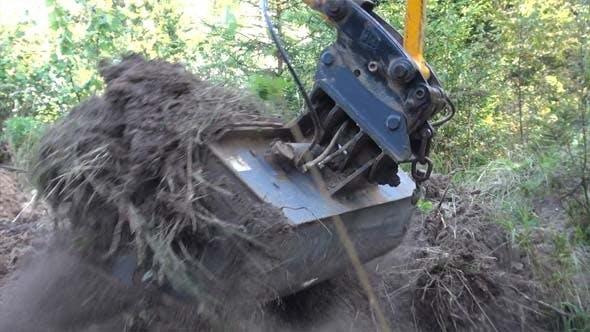 Excavator- Backhoe Loader