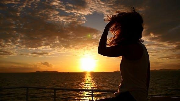 Thumbnail for Impressive Sunset ftom the Ship