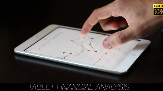 Cover Image for Tablet Financial Analysis 9