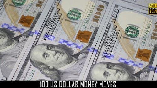 100 US Dollar Money Moves