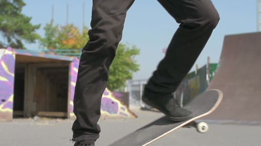 Thumbnail for Skateboard Turn