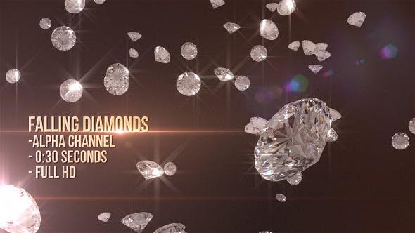 Thumbnail for Falling Diamonds