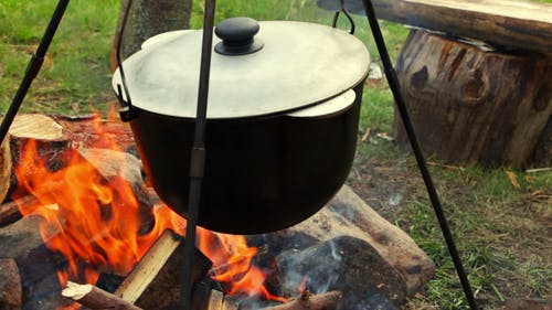 Cooking on the Campfire