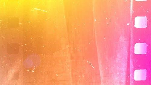 Film Burn Light Leaks Transitions