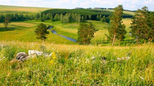 Thumbnail for Hills Summer Landscape