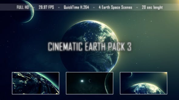 Thumbnail for Cinematic Earth Pack 3
