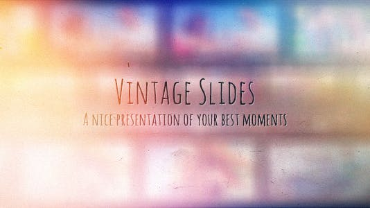 Vintage Slides - Photo Gallery