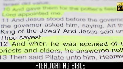 Highlighting Bible 5