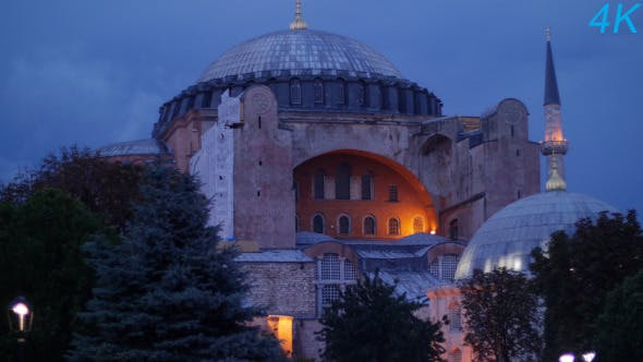 Thumbnail for Ayasofya Mosque In Istanbul 4 (Pack of 3)