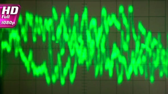 Chaotic Signal of a Sound Wave