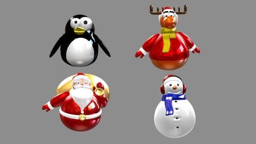 Pack d'icônes animées de Noël