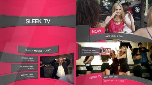 Sleek TV - Broadcast Package