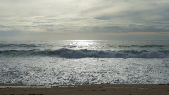 Thumbnail for Waves Crashing on Beach 939