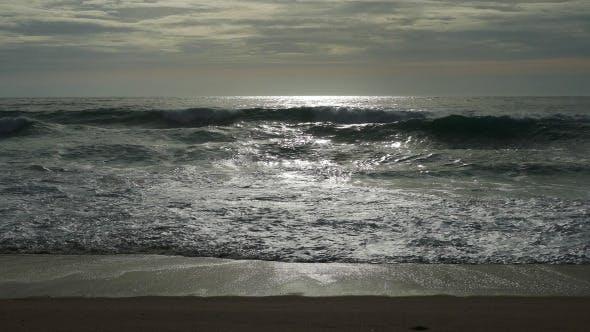 Thumbnail for Waves Crashing on Beach 941