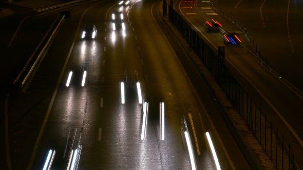 Thumbnail for Long Shutter Traffic Car Light Streaks 947