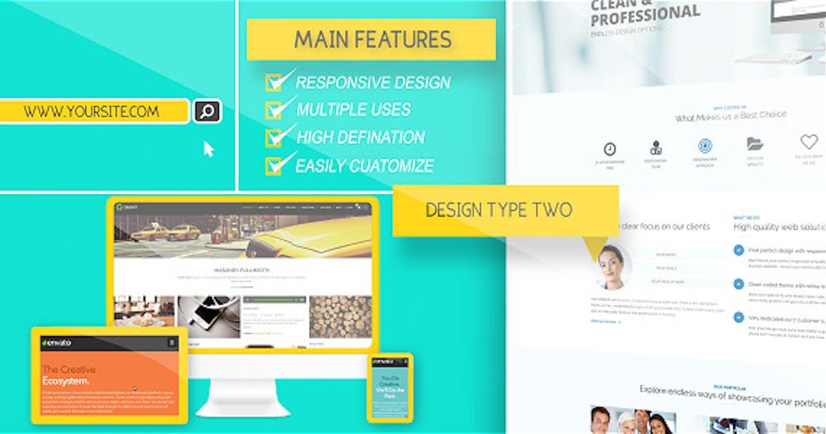 Website Presentation Pack