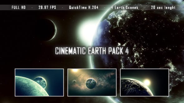 Thumbnail for Cinematic Earth Pack 4