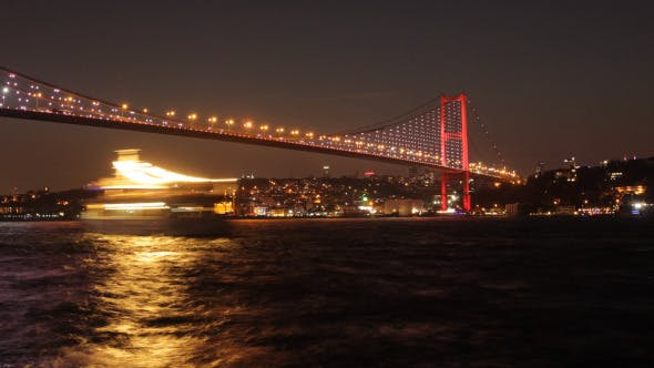 Thumbnail for Bosphorus Bridge Day To Night 4