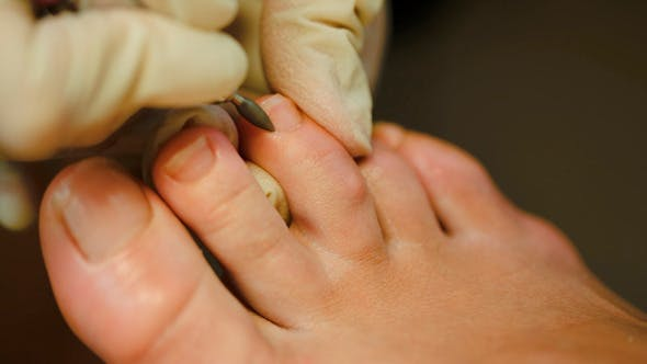 Thumbnail for Woman Getting A Pedicure