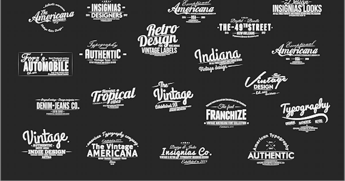 Vintage Slideshow Titles Pack by xFxDesigns