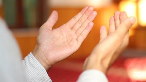 Muslimische Beten