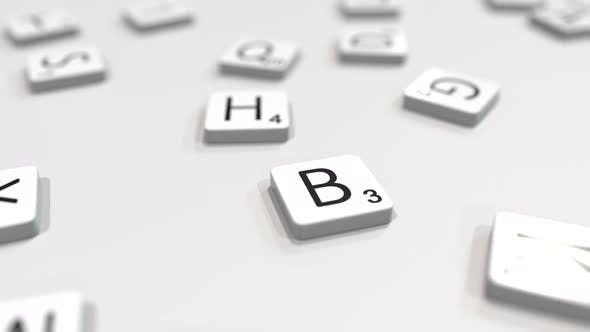 Cover Image for BRAIN Word Being Made with Letters