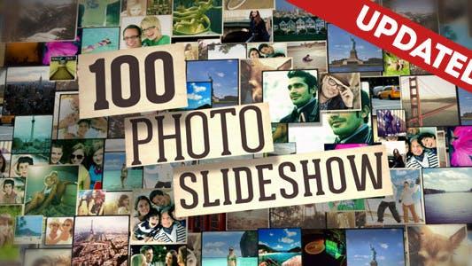 Thumbnail for 100 Photo Slideshow