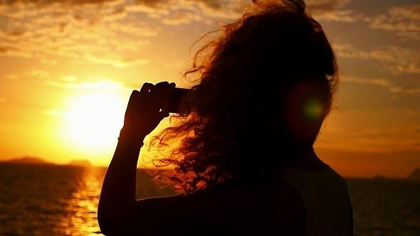 Thumbnail for Smart Phone Photo of Magic Sunset