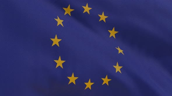 Thumbnail for EU Flag 4K Seamless Loop