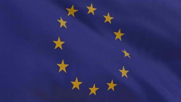 Cover Image for EU Flag 4K Seamless Loop