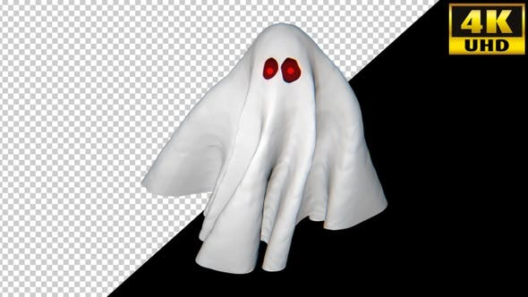 Helloween Ghost Video Loops Pack 002