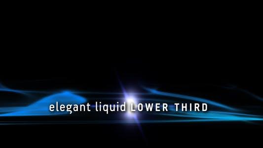 Thumbnail for Elegant Liquid Lower Third