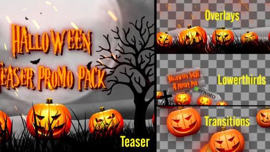 Thumbnail for Halloween Teaser Promo Pack