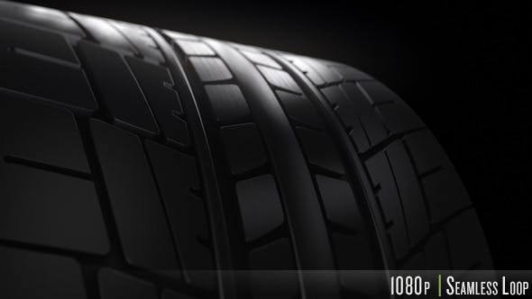 Vehicle Tire Spinning