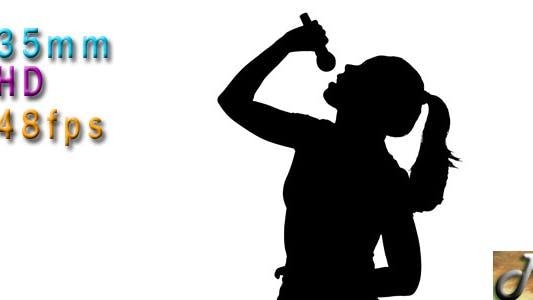 Thumbnail for Woman Singer Silhouette