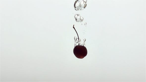 Thumbnail for Cherry Drop Into Water