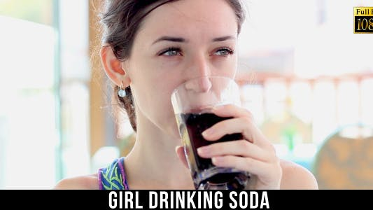 Thumbnail for Girl Drinking Soda