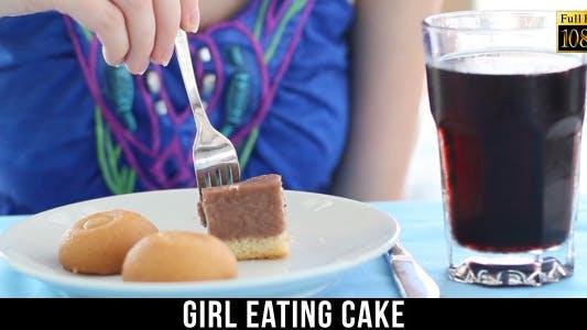 Cover Image for Girl Eating Cake 5