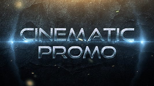 Thumbnail for Cinematic Promo Trailer