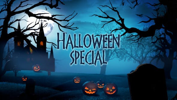 Thumbnail for Halloween Special Promo - Apple Motion