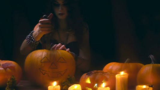 Thumbnail for Carving Pumpkin Tradition